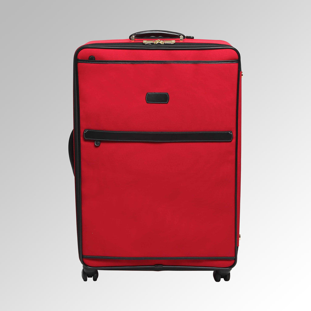 Travel - Red/Black Wheeled Luggage