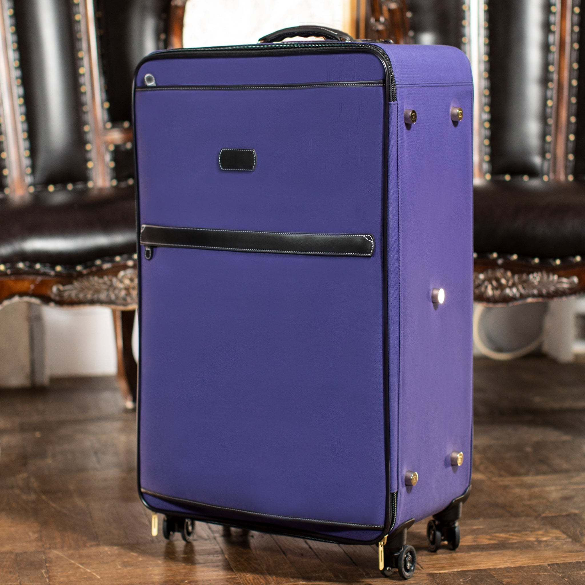 Travel - Blue/Burg Wheeled Luggage