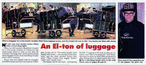 Elton and all the TAnthony suitcases