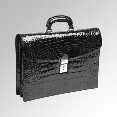 ALLIGATOR FLAP BRIEFCASE