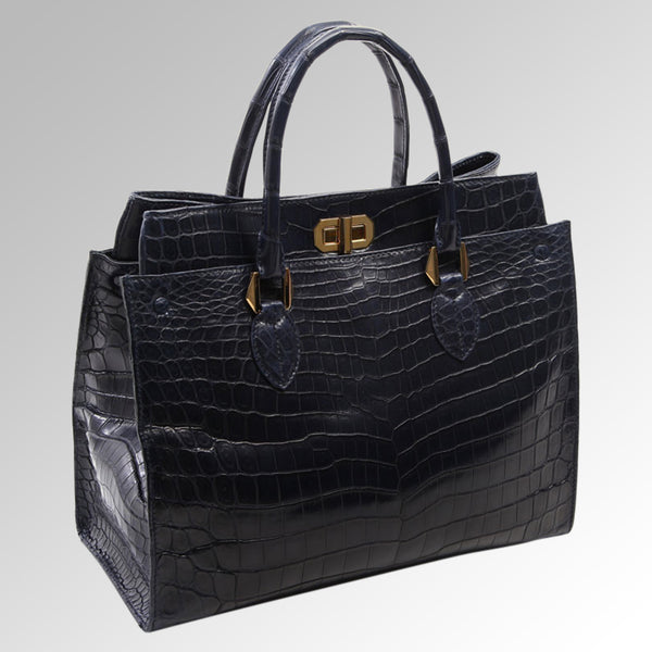 ALLIGATOR LUXURY TOTE