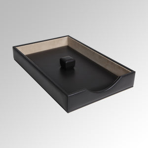 EXECUTIVE DESK SET LETTER TRAY