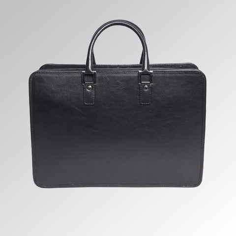 VINTAGE LEATHER ORGANIZER BRIEFCASE