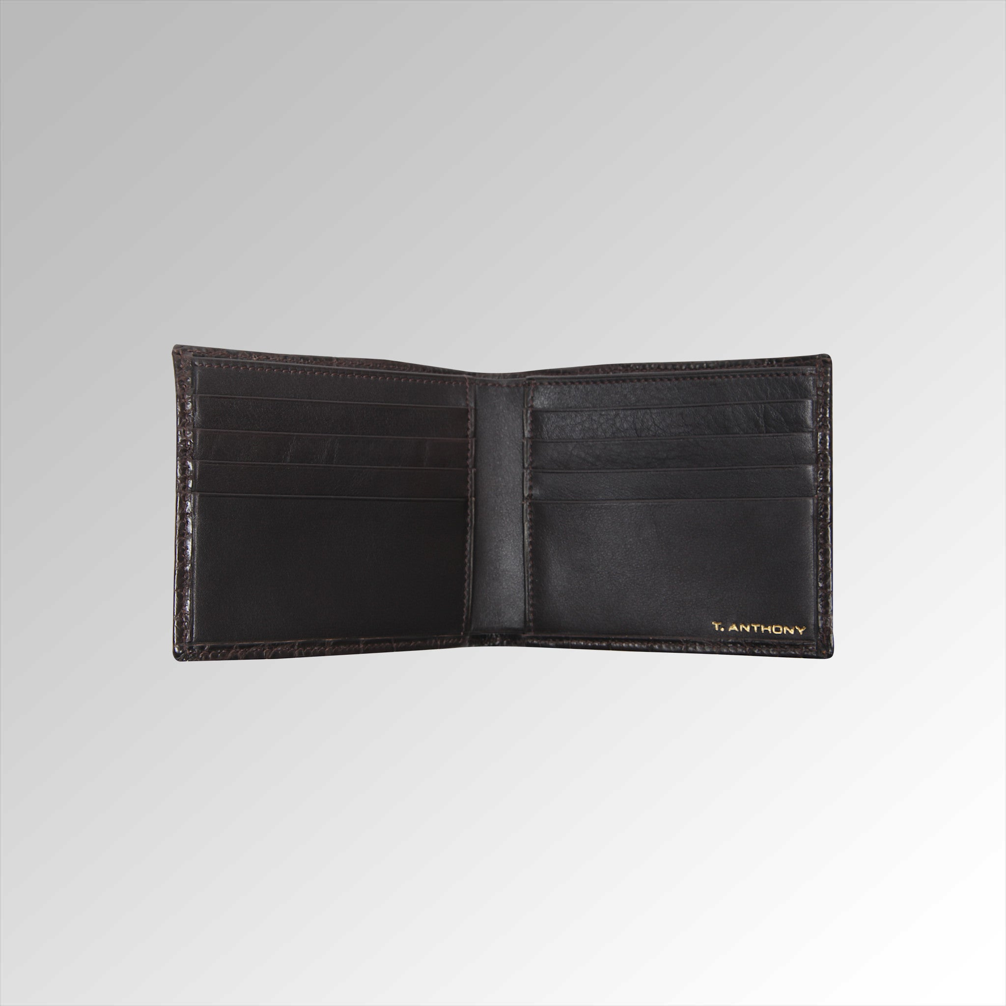MATTE ALLIGATOR HIP WALLET