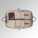 VINTAGE LEATHER GARMENT CARRIER