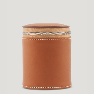 Connolly Travel Candle Holder Tan