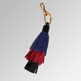HANDBAG TASSEL  3-TIERED COLOR