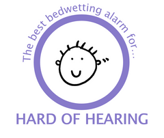 The best bedwetting alarm for hard of hearing