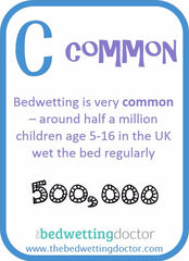 Bedwetting is common
