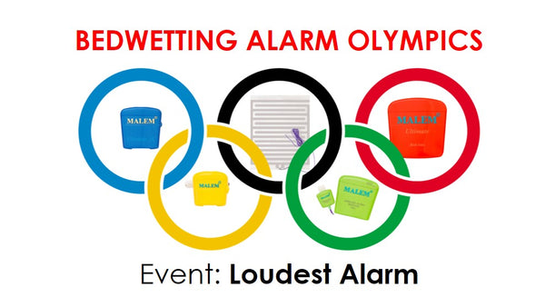 Loudest bedwetting alarm