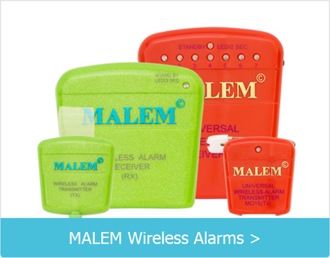 Malem Wireless Bedwetting Alarms