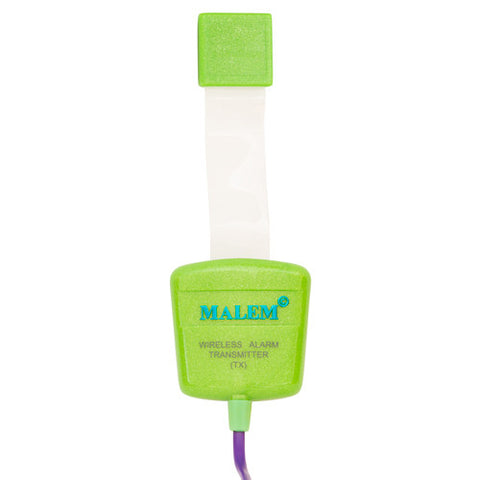 MO12 Green Malem Wireless Enuresis Bedwetting Alarm transmitter