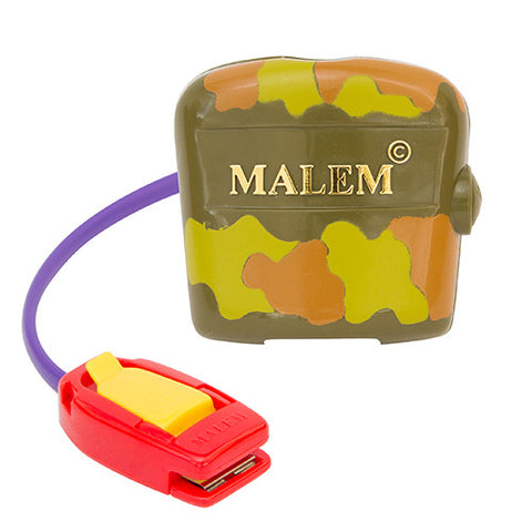 MO3 Camouflage Malem Wearable Enuresis Bedwetting Alarm front with clip