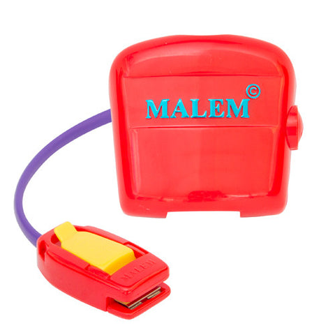 Malem Bedwetting Alarm - MO3 Audio (single tone) - Red