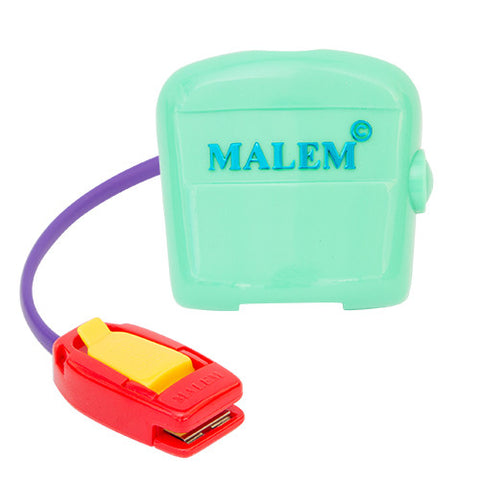 Malem MO3 *VIBRATION ONLY* Personal Continence Trainer - Turquoise