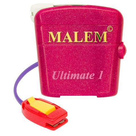 Malem Bedwetting Alarm - MO4 Ultimate (single tone) - Pink