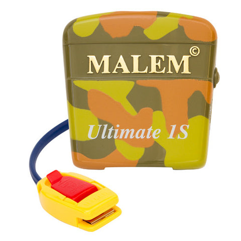 MO4S Camouflage Malem Wearable Enuresis Bedwetting Alarm front with clip