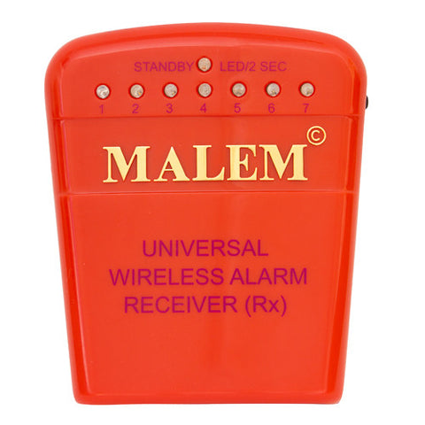 MO15 Red Malem Wireless Enuresis Bedwetting Alarm Receiver front