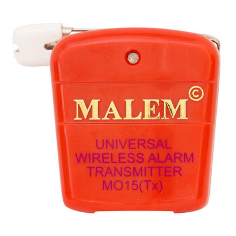 MO15 Red Malem Wireless Enuresis Bedwetting Transmitter front