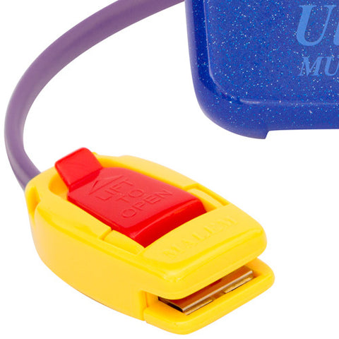 MO17 Blue Malem Wearable Enuresis Bedwetting Alarm with closed clip