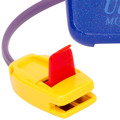 MO17 Blue Malem Wearable Enuresis Bedwetting Alarm with open clip