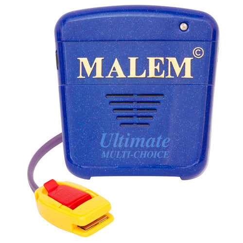 MO17 Blue Malem Wearable Enuresis Bedwetting Alarm front with clip