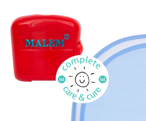 Complete Care & Cure Audio Bundle - Malem Audio Alarm + The Waterproof Bed Sheet