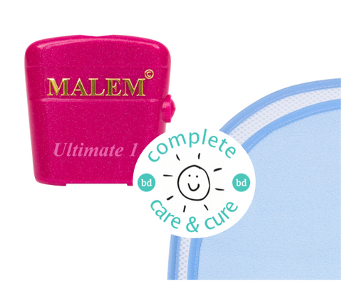 Complete Care & Cure Ultimate Bundle - Malem Ultimate Alarm + The Waterproof Bed Sheet