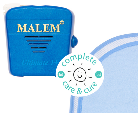 Complete Care & Cure Recordable Bundle - Malem Recordable Alarm + The Waterproof Bed Sheet