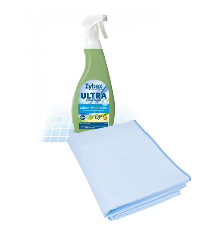 Clean & Care Bundle - The Waterproof Bed Sheet + Zybax Odour Eliminator
