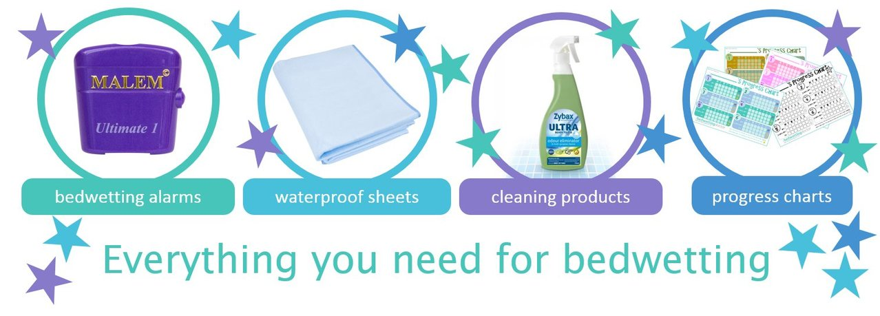 Everything you need to cure bedwetting