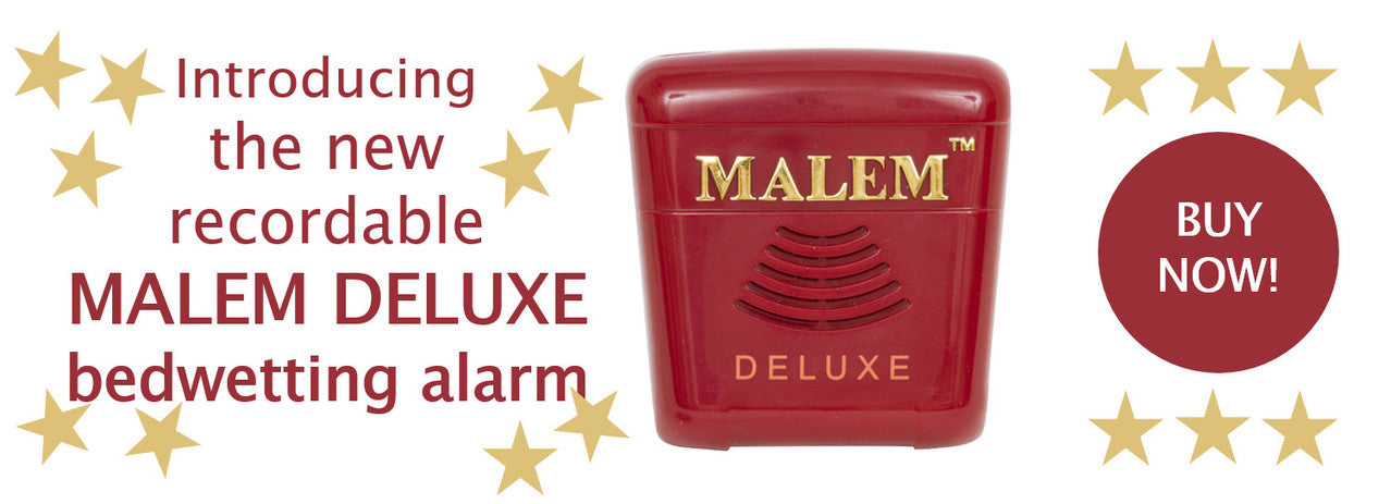 Malem Deluxe Bedwetting Alarm