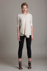Drape Front Blouse - Byron Lars Beauty Mark
