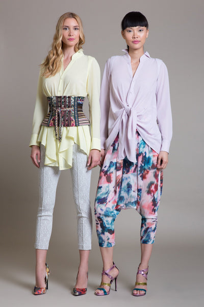 Watercolor Harem Pant