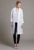 Coated Eyelet Trench Coat - Byron Lars Beauty Mark