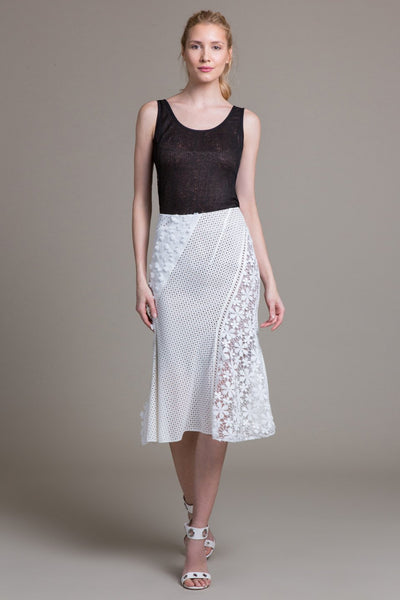 Bias Panel Skirt - Byron Lars Beauty Mark