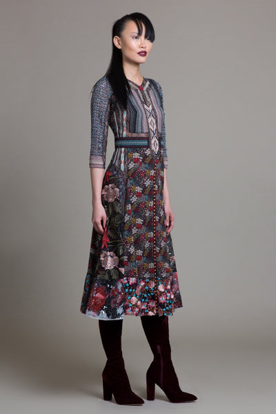 City Cowgirl Floral Dress - Byron Lars Beauty Mark