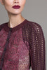 Textured Lace Cardigan - Byron Lars Beauty Mark