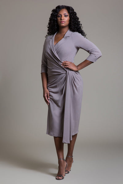 Twist Waist Dress - Byron Lars Beauty Mark