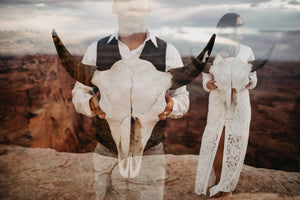 Karmen and Tyson's Engagement Photo Session in Canyonland, Utah