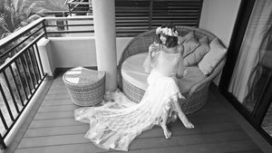Dunja and Chadi's gorgeous Seychelles Beach Wedding
