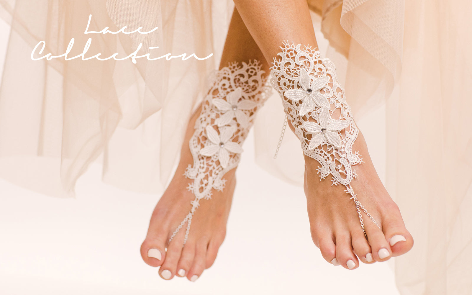 e2c3330a2fd9b Lace / Crochet Collection of Barefoot Sandals and Foot Jewelry ...