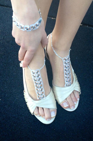 Ashley B's review of bare Sandals
