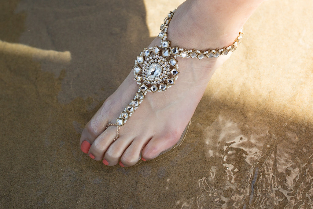 Euphoria Barefoot Sandals by Bare Sandals