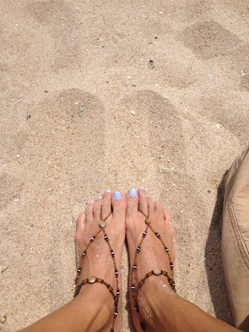 Tracia S's review of Bare Sandals