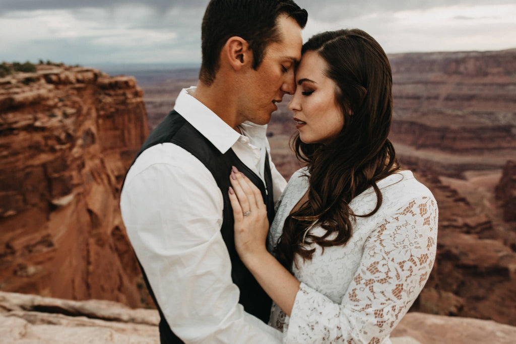 Canyonland Engagement Photo