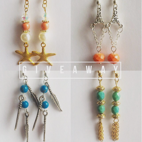 December Giveaway by Bare Sandals - Bohemian Earrings