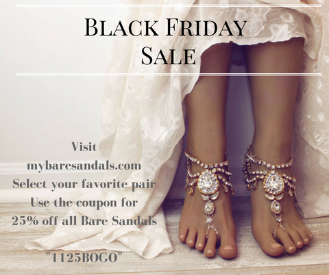 Bare Sandals on Sale