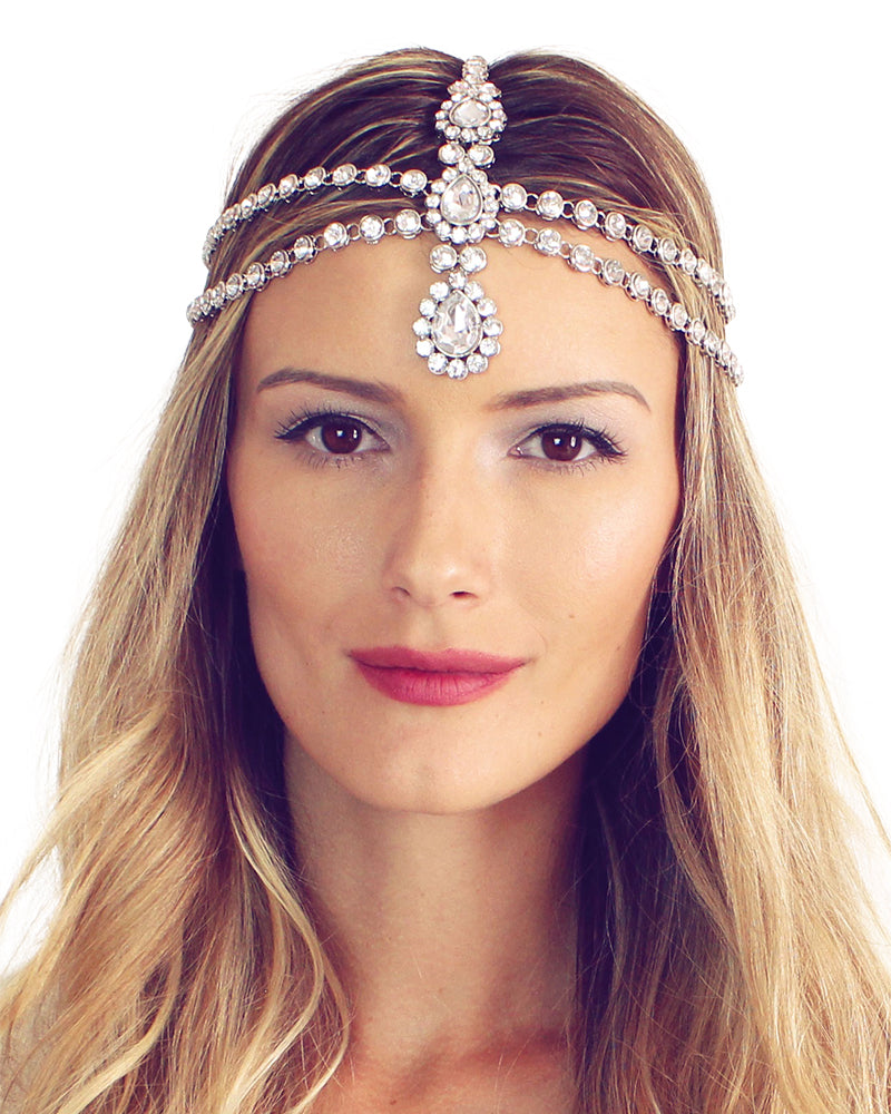 Luna Silver Head Chain