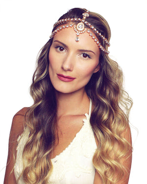 Dulce Gold Head Chain